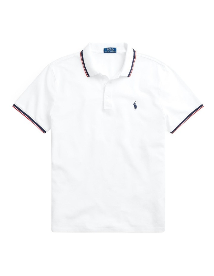 Custom Slim Stretch Mesh Polo image 4