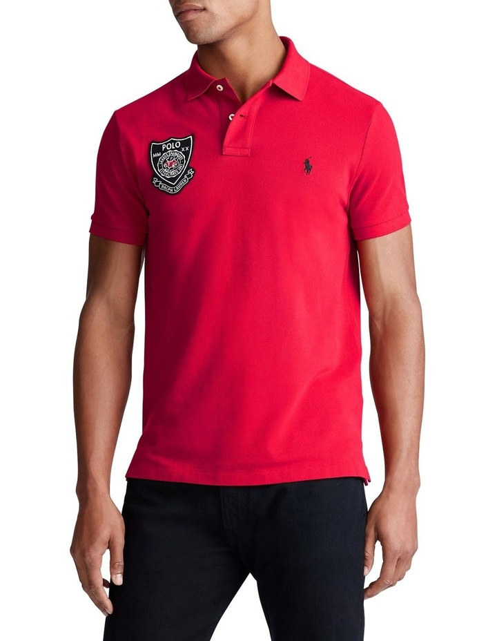 Lunar New Year Mesh Polo image 1