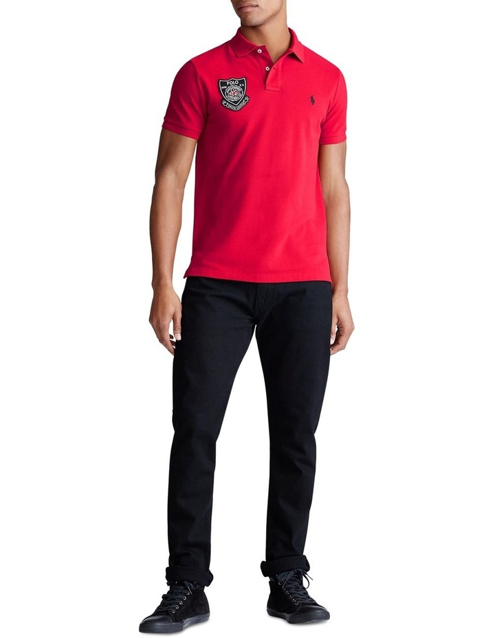 Lunar New Year Mesh Polo image 3