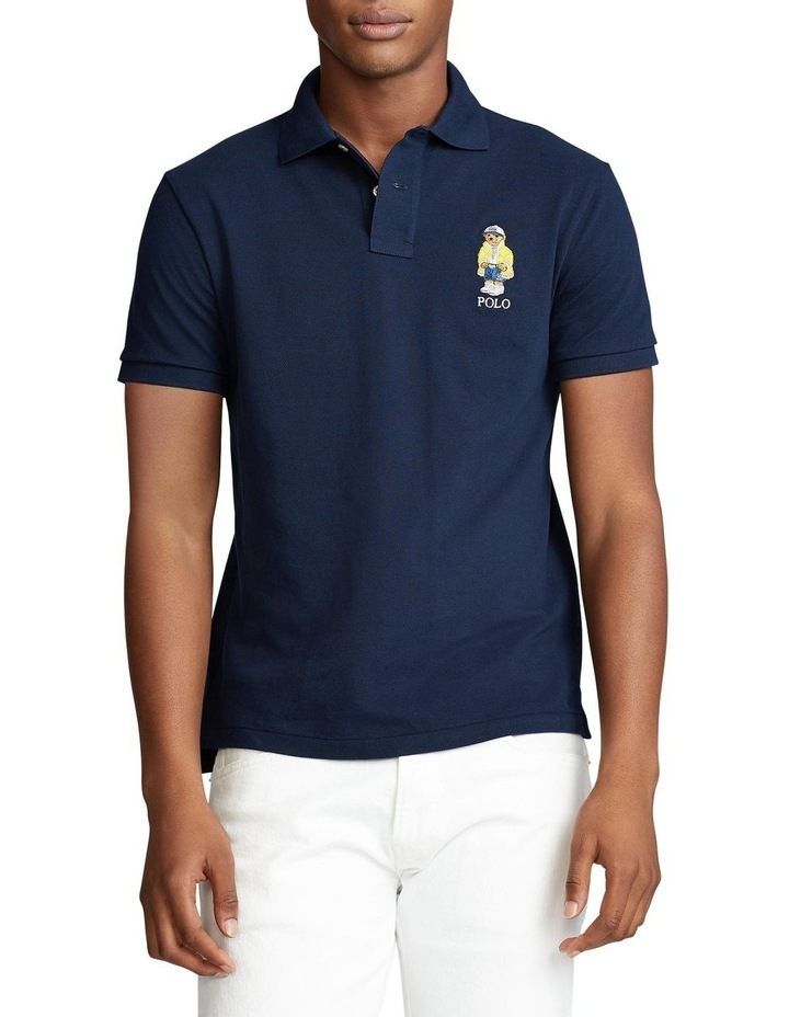 Custom Slim CP-93 Bear Polo image 1