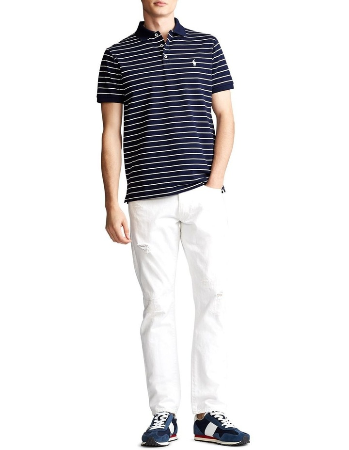 Custom Slim Stretch Mesh Polo image 3