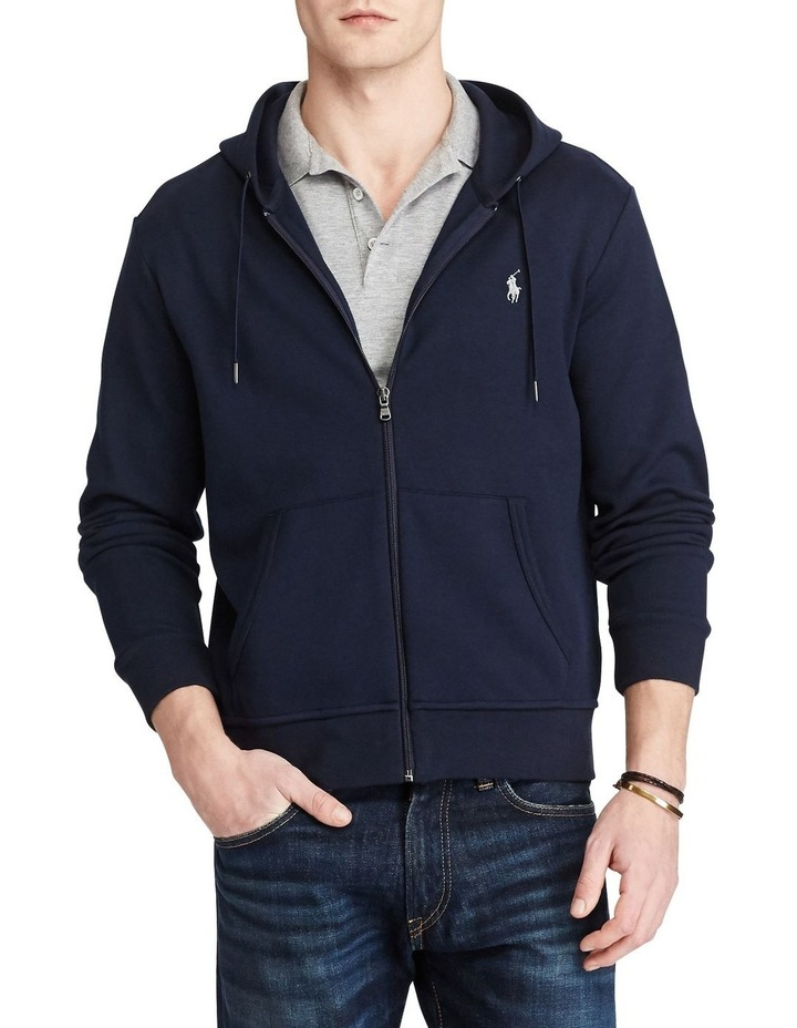 Double Knit Full-Zip Hoodie image 1
