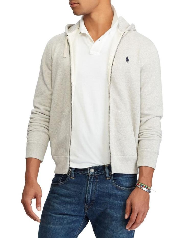 Cotton Blend Fleece Hoodie image 1
