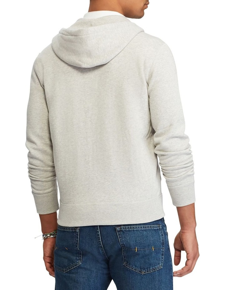 Cotton Blend Fleece Hoodie image 2
