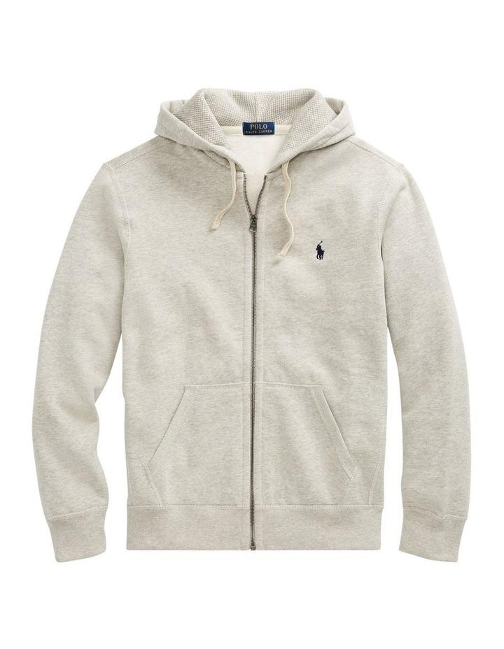 Cotton Blend Fleece Hoodie image 4