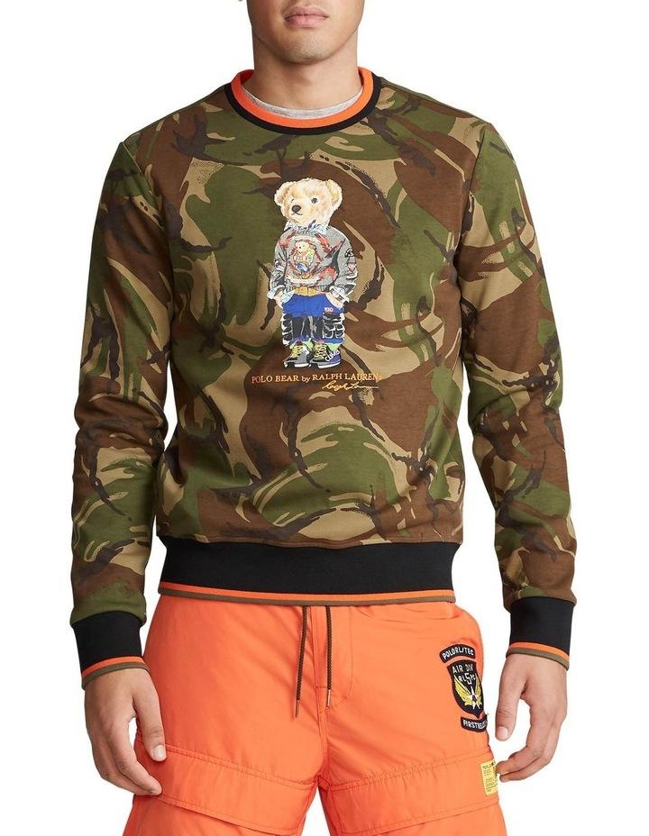 Polo Bear Camo Sweatshirt image 1