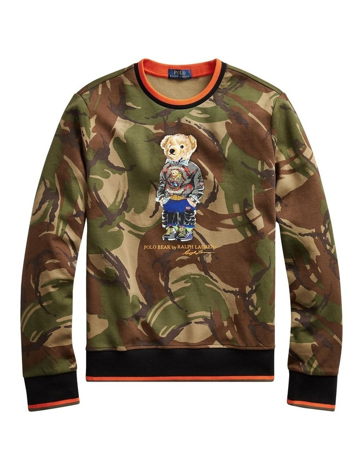 Polo Bear Camo Sweatshirt image 4