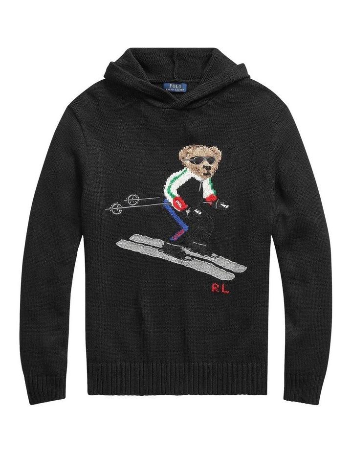 Ski Bear Hoodie image 4