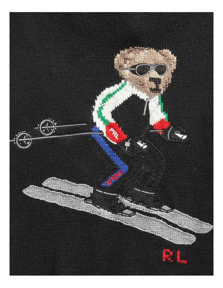 Ski Bear Hoodie image 5