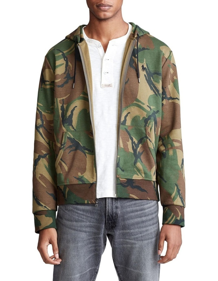 Camo Double-Knit Hoodie image 1