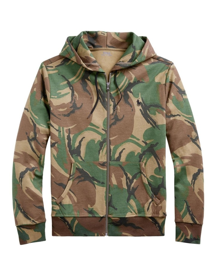 Camo Double-Knit Hoodie image 4
