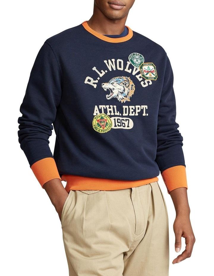 Fleece Graphic Sweatshirt image 1