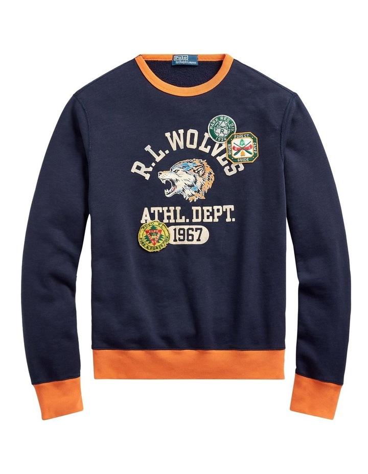 Fleece Graphic Sweatshirt image 4