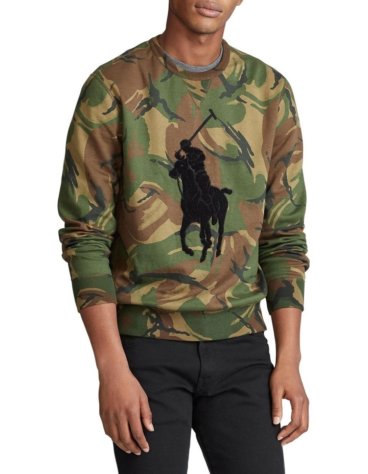 Big Pony Camo Sweatshirt image 1
