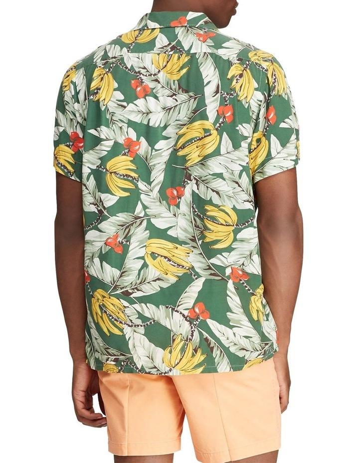 Classic Fit Banana-Print Short Sleeve Shirt image 2