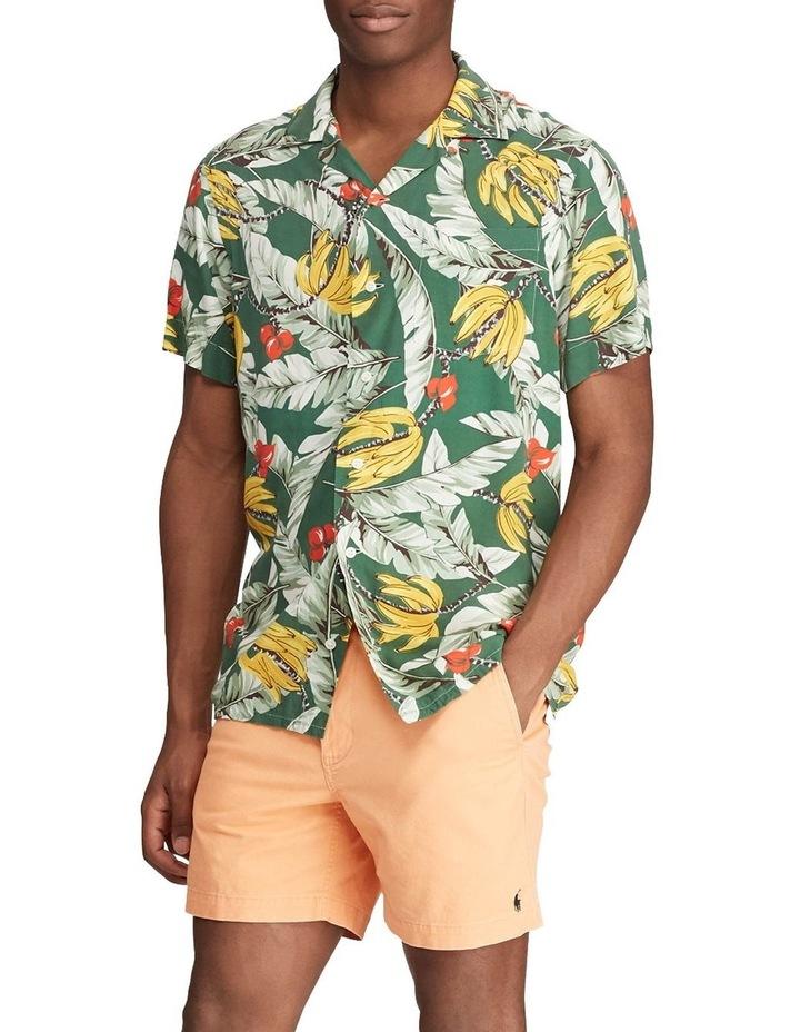 Classic Fit Banana-Print Short Sleeve Shirt image 3