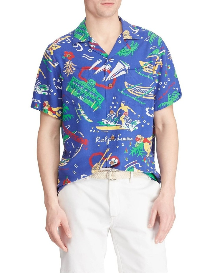 Classic Fit Tropical Short Sleeve Shirt image 1