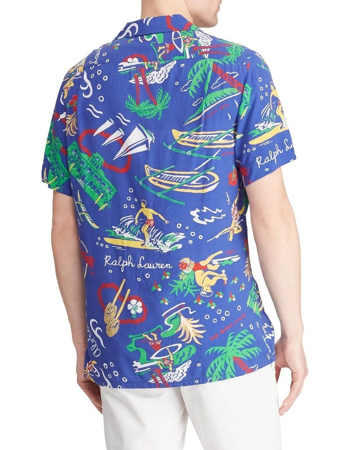 Classic Fit Tropical Short Sleeve Shirt image 2
