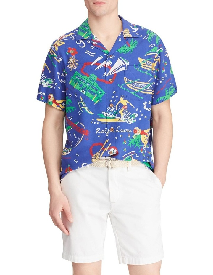Classic Fit Tropical Short Sleeve Shirt image 3