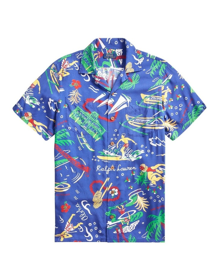 Classic Fit Tropical Short Sleeve Shirt image 4