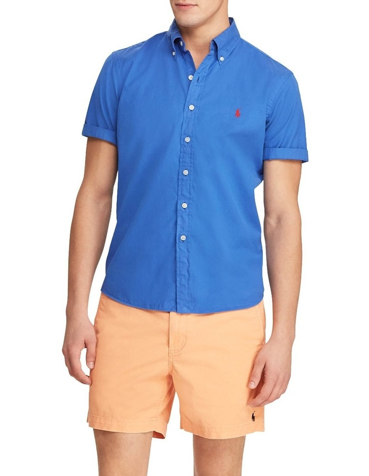 Classic Fit Twill Short Sleeve Shirt image 3
