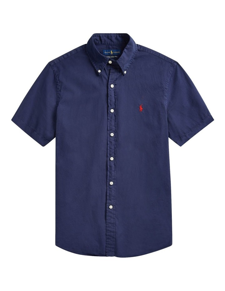 Classic Fit Twill Short Sleeve Shirt image 4
