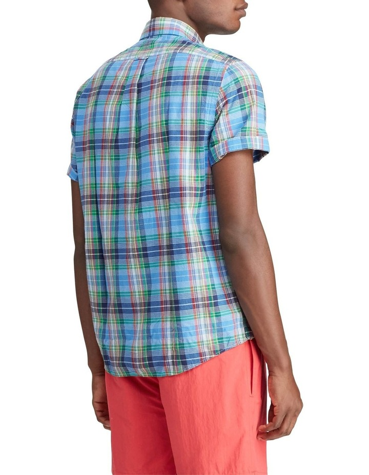 Classic Fit Madras Short Sleeve Shirt image 2