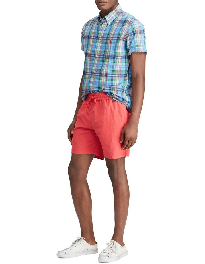 Classic Fit Madras Short Sleeve Shirt image 3