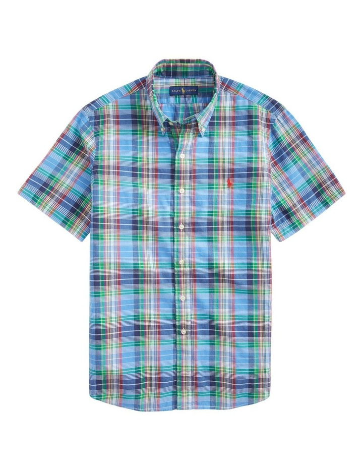 Classic Fit Madras Short Sleeve Shirt image 4