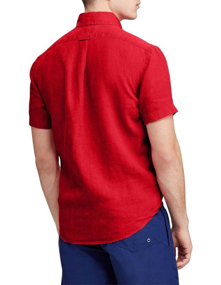 Classic Fit Linen Short Sleeve Shirt image 2