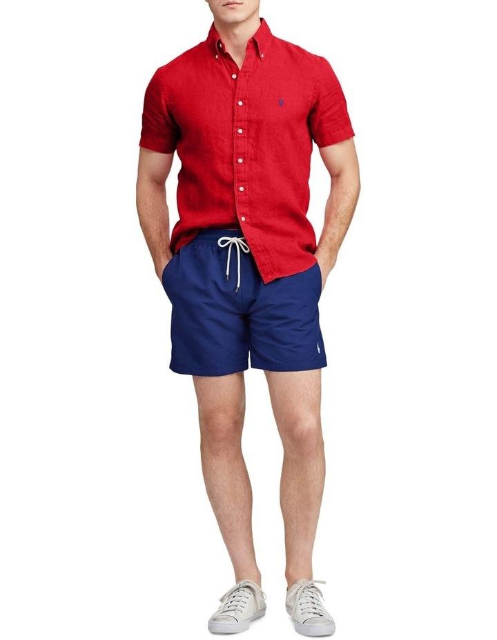 Classic Fit Linen Short Sleeve Shirt image 3