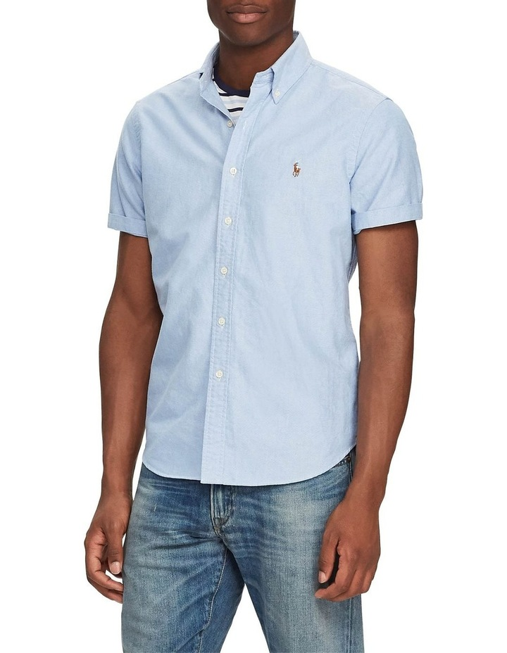 Classic Fit Oxford Short Sleeve Shirt image 1
