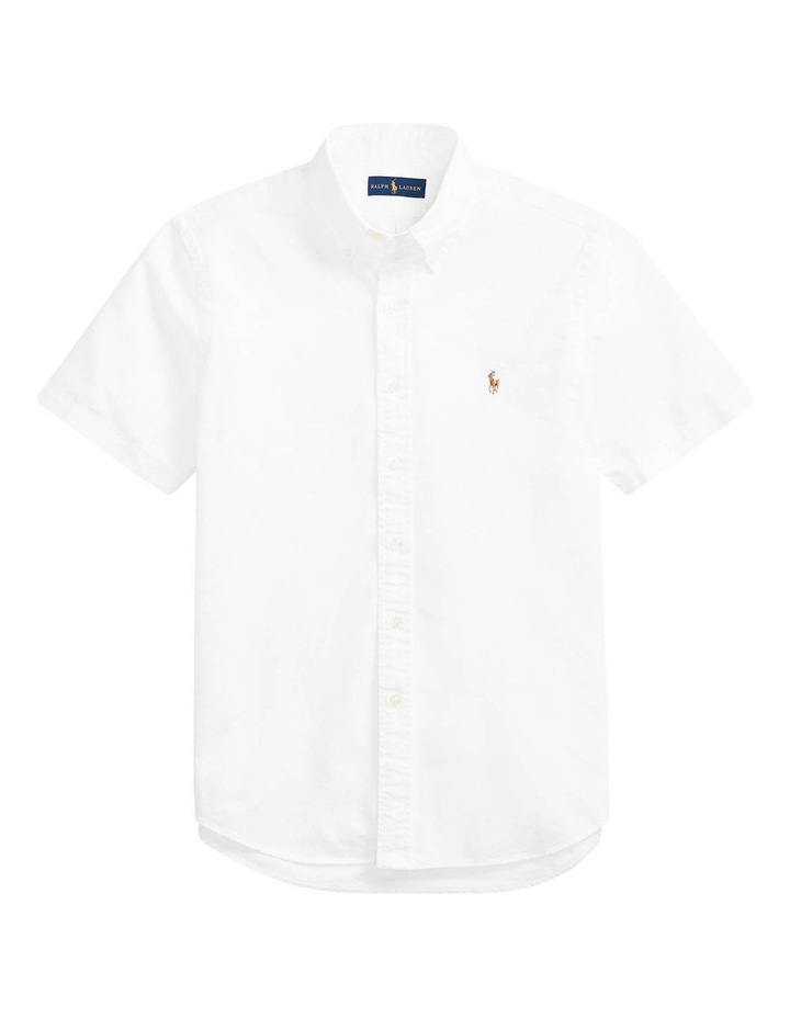Classic Fit Oxford Short Sleeve Shirt image 4