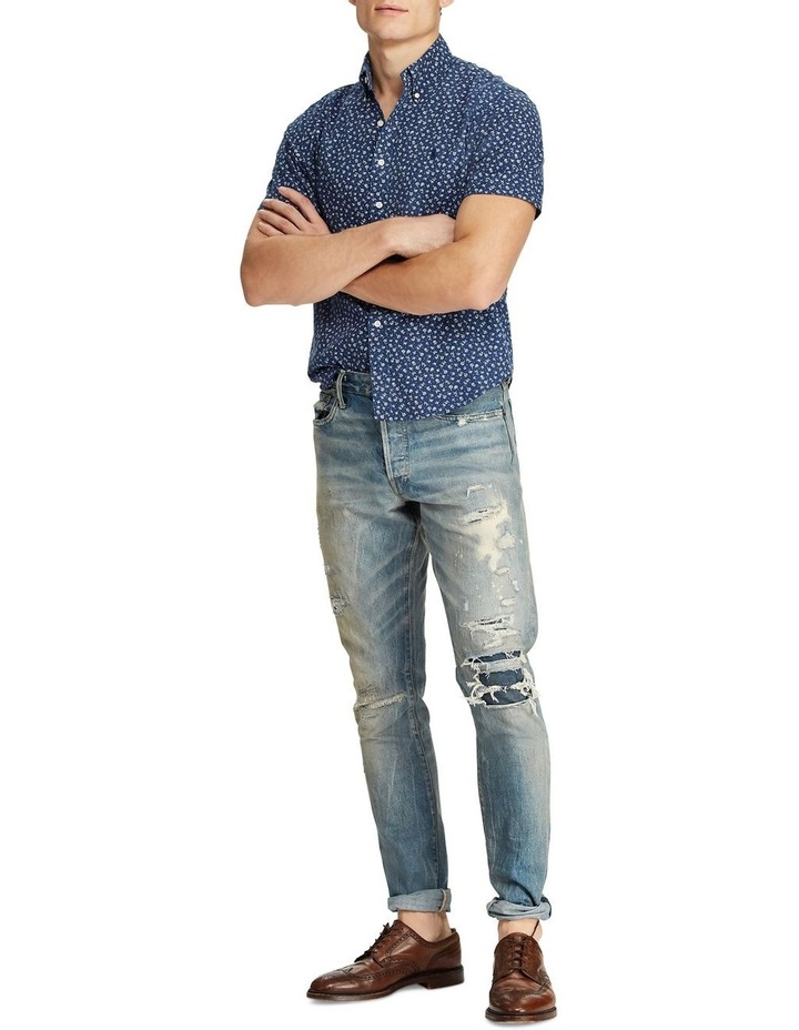 Classic Fit Floral Short Sleeve Shirt image 3