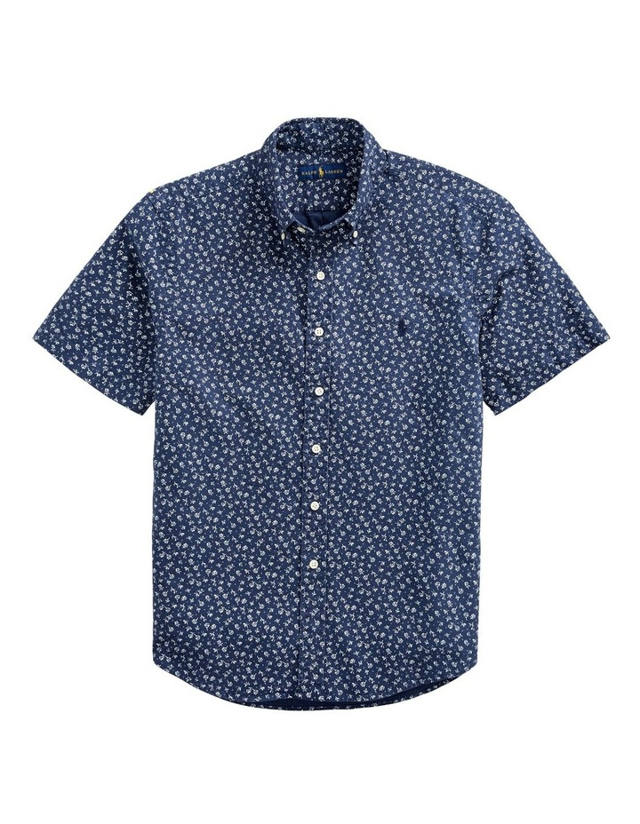 Classic Fit Floral Short Sleeve Shirt image 4