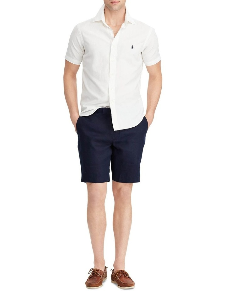 Classic Fit Chambray Short Sleeve Shirt image 3