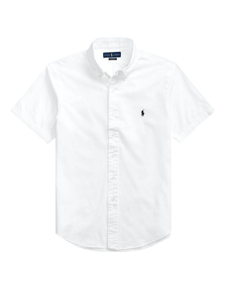Classic Fit Chambray Short Sleeve Shirt image 4