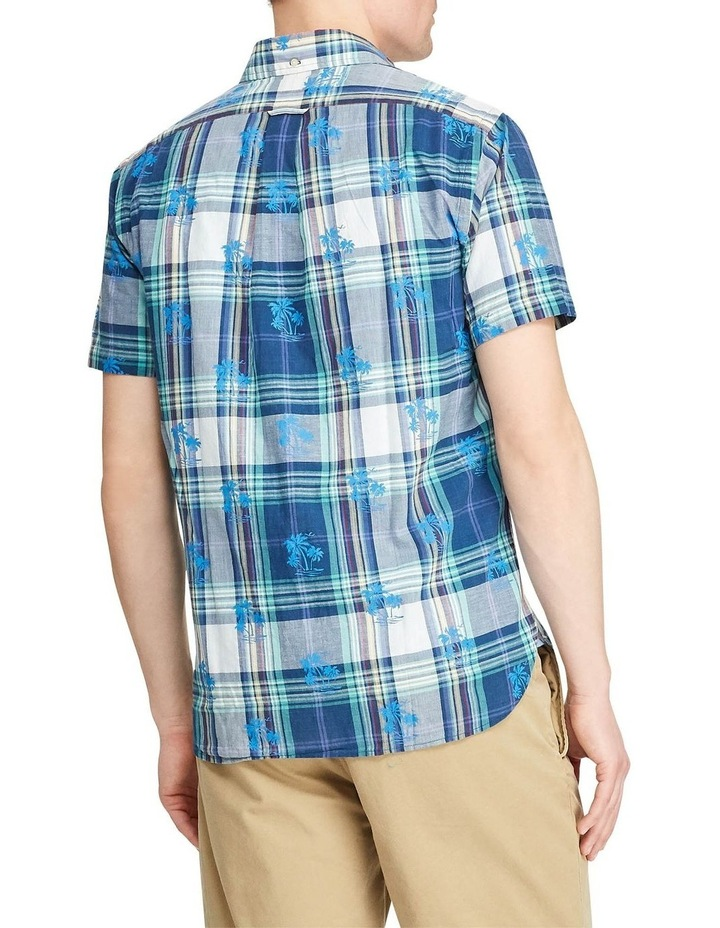 Custom Fit Madras Short Sleeve Shirt image 2