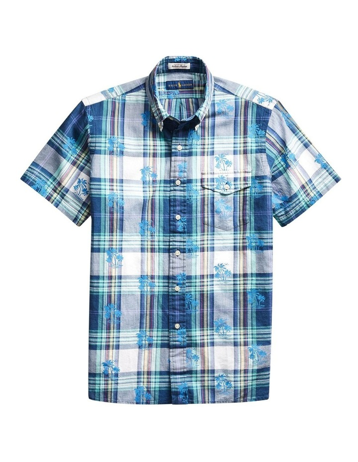 Custom Fit Madras Short Sleeve Shirt image 4