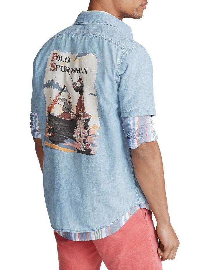 Sportsman Chambray Short Sleeve Shirt image 2