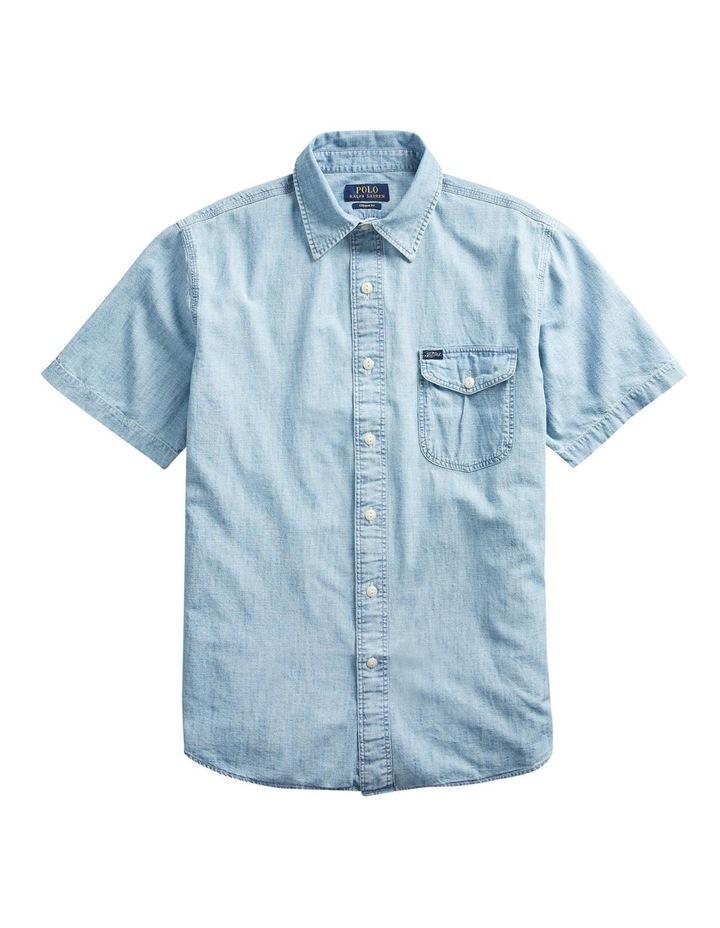 Sportsman Chambray Short Sleeve Shirt image 4