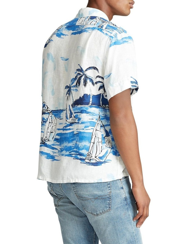 Classic Fit Sailboat Short Sleeve Shirt image 2