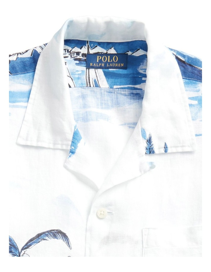 Classic Fit Sailboat Short Sleeve Shirt image 5