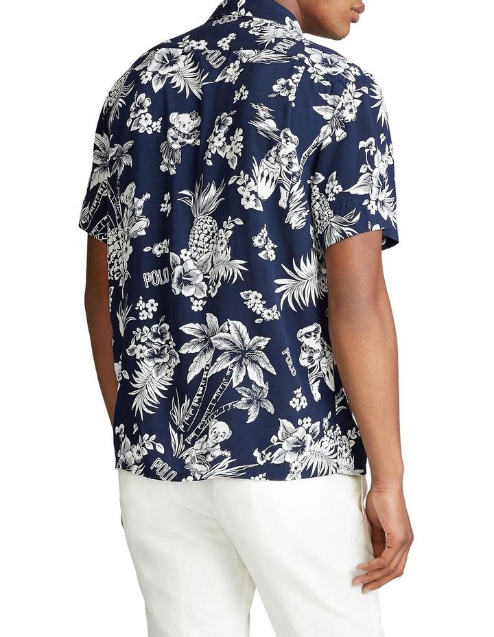 Custom Fit Tropical Bear Short Sleeve Shirt image 2