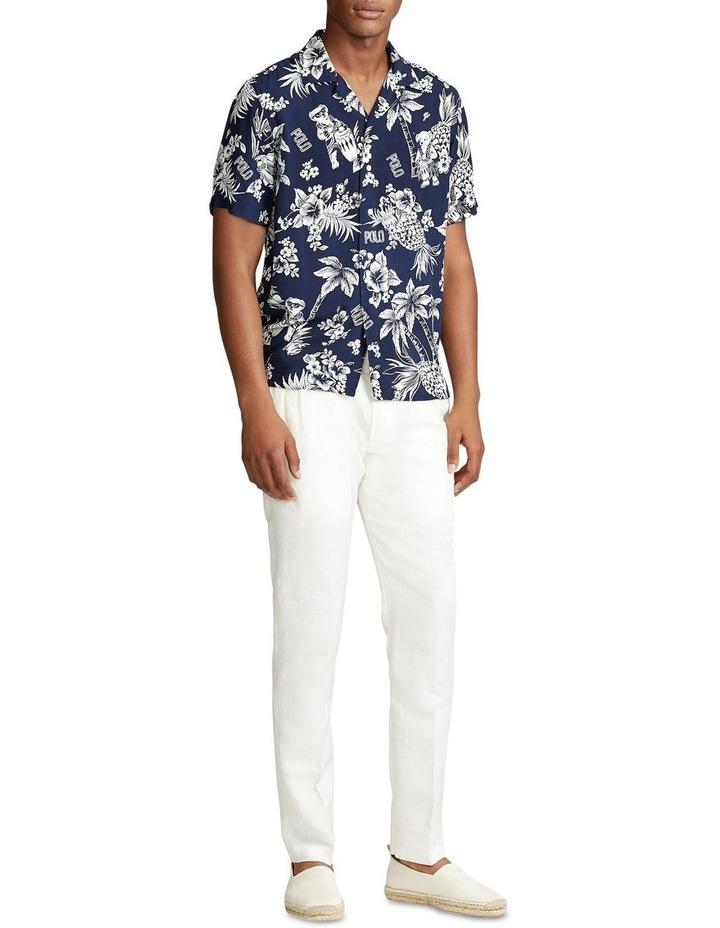 Custom Fit Tropical Bear Short Sleeve Shirt image 3