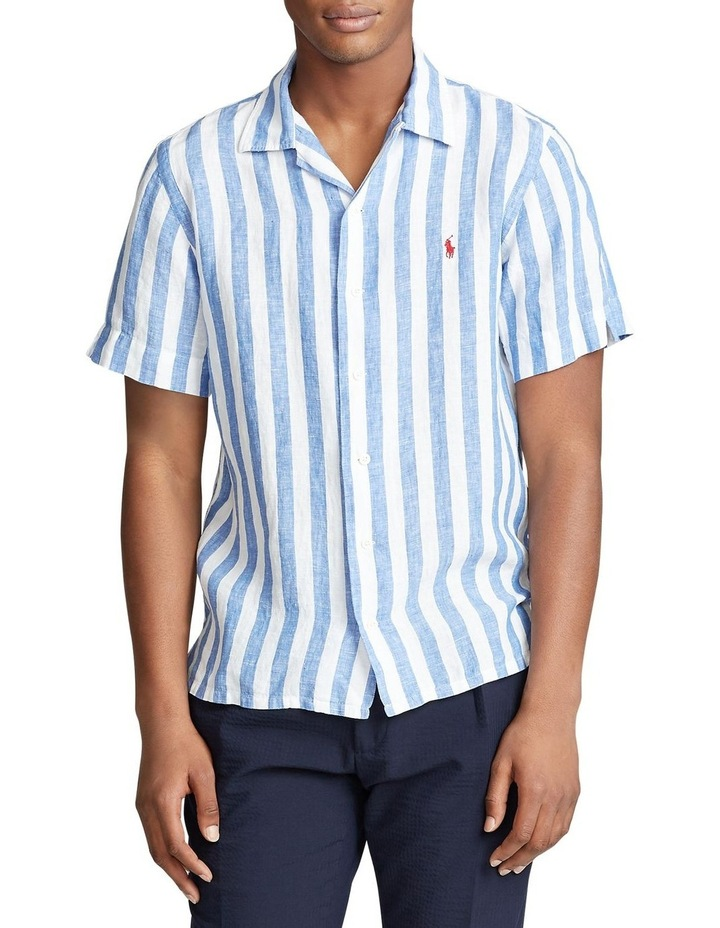 Classic Fit Striped Short Sleeve Shirt image 1