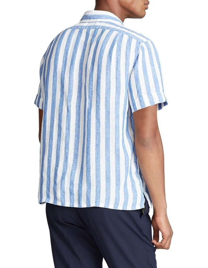 Classic Fit Striped Short Sleeve Shirt image 2