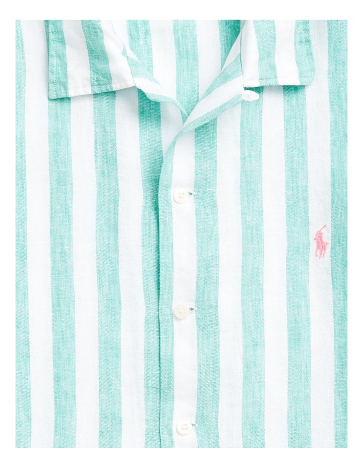 Classic Fit Striped Short Sleeve Shirt image 5