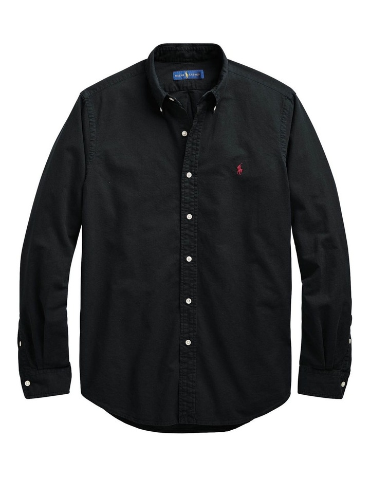Classic Fit Oxford Long Sleeve Shirt image 4