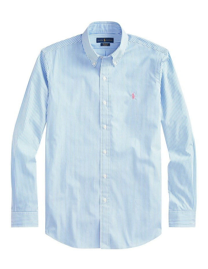 Slim Fit Striped Long Sleeve Shirt image 4